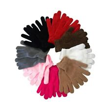New Chenille Gloves Warm  Comfortable Knit Gloves Great Colors to Choose From