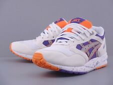 ASICS GEL SAGA WHITE LIGHT GREY PURPLE ORANGE H423N-0113 FIEG SAGA GT II LYTE