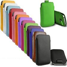 Pull Tab PU Leather Bag Pouch Sleeve Case Cover for Samsung Galaxy S3 S4 III IV
