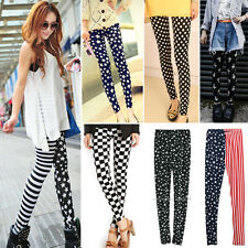 New Wholesale Ladys Punk Funky Sexy Leggings Stretchy Tights Pencil Skinny Pants