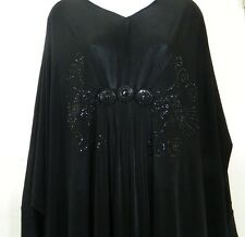 NEW STYLISH BEAUTIFUL BUTTERFLY FARASHA DUBAI ABAYA LYCRA STRETCH ISLAMIC MODEST