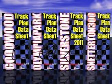Full Colour Printed Circuit Track Plans for Scalextric™