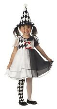 Brand New Lil Harlequin Toddler girl Costume by california costume 00067