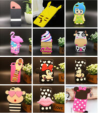 For Apple iPhone 5 5S 6 & PLUS Disney Cute Cartoon Soft Silicone Back Case Cover