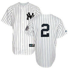 2014 Derek Jeter New York Yankees Home Jersey w/ #2 Captain Patch Men's (S-2XL)