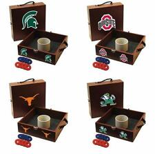 Choose Your NCAA College M-Z Team Ring Washer Toss Game by Tailgate Toss