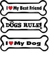 Bone Dog Magnet - Cute Sayings - For Car Frig Locker by Imagine This USA