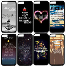 """Sleeping With Sirens Quote For Apple 4.7"""" iPhone 6 Hard Snap On Case Cover"""