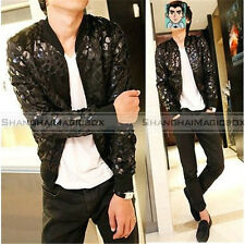 Men Fashion Vintage Slim Fit Leopard Trench Coat Jacket Outwear New MCOAT108