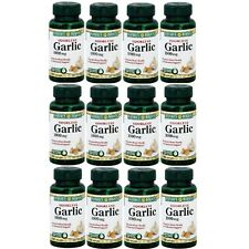 Nature's Bounty Odorless Garlic 1000 mg Dietary Supplement Softgels - 100 Ct ea