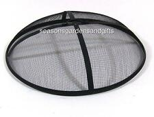 Outdoor Fire Pit Cooking Grill Metal Fire Pit Screen Cover  FREE SHIPPING!