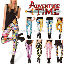 2014 Pirate Punk Galaxy Pants Digital Printing ADVENTURE TIME Leggings For Women