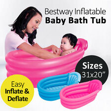 """BESTWAY 31"""" INFLATABLE PORTABLE BABY BATH TUB SWIMMING POOL SUMMER"""