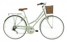 KINGSTON HAMPTON, CLASSIC CITY SHOPPER LADIES BIKE (SAGE GREEN), RRP £264.99