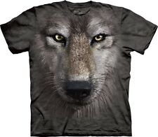 New WOLF FACE T-Shirt S-3XL The Mountain Official Tee