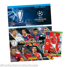 Adrenalyn XL 2014 2015 Champions League 14 15 Packs, Starter, box, Tin + Limited