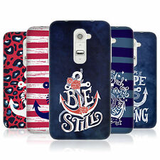 HEAD CASE ANCHORED TPU GEL BACK CASE COVER FOR LG G2 D802