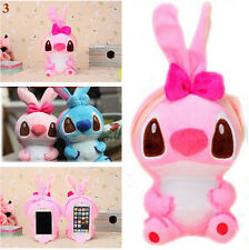 Lovely 3D Cute Cartoon Dog Plush Toy Doll Case Cover For Various HTC Phones