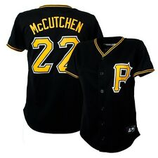 2014 Andrew McCutchen Pittsburgh Pirates Alternate Black Jersey Women's (S-2XL)