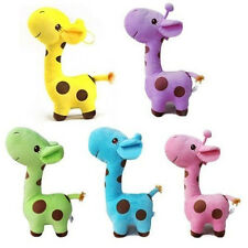 Cute Gift Plush Giraffe Soft Toy Animal Dear Doll Baby Kid Child Birthday Happy
