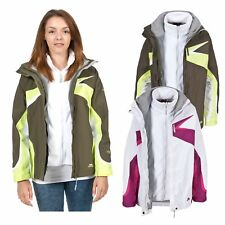 Trespass DALI Womens Ladies 3 in 1 Fleece Winter 3in1 Coat Waterproof Jacket