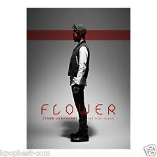 YONG JUN HYUNG (BEAST B2ST) - FLOWER (1st Solo Album) CD+Poster+Gift Photo