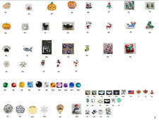 Floating Charms For Living Memory Glass Lockets Many to choose from - US Seller