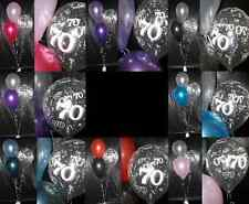 Happy 70th Birthday Party Helium Balloon Decoration DIY Clusters Kit - 20 tables