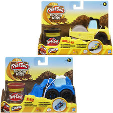 PLAY DOH DIGGIN RIGS MODELLING CLAY TONKA CHUCK CAR PLAY SET GIFT TOY