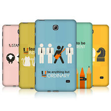 HEAD CASE DESIGNS BE DIFFERENT CASE COVER FOR SAMSUNG GALAXY TAB 4 7.0 LTE T235