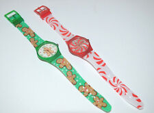 Avon Christmas Holiday Novelty Watch Gingerbread Man or Candy Cane * PICK YOURS*