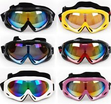 Ski Snowboard Snowmobile Bicycle Motorcycle Snow Goggles Eyewear Glasses UV400