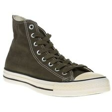 New Mens Converse Green All Star Hi Canvas Trainers Lace Up