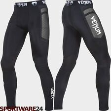 Venum Compression Leggings Absolute Spats Tights schwarz MMA Grappling Training