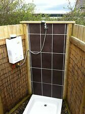 Camping Shower from Showerking; LPG Hot Water for Camping; Cointra Optima L5