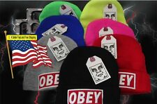 OBEY Beanie DIAMOND SUPPLY CO  YMCMB DRAKE LIL WAYNE US SELLER