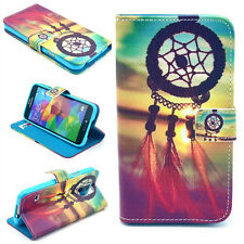 Dream Catcher GOOD WISH Flip Leather Wallet Case Rubber Stand Cover For Phones