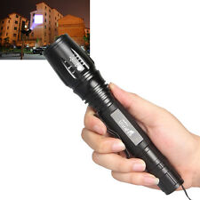 New 2000 Lumen Zoomable Focus CREE XML T6 LED Flashlight Torch Zoom Lamp Light