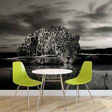 WALL MURAL PHOTO WALLPAPER PICTURE (218PP) Jaguar Black and White