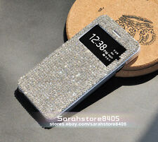 BlingBling Clear Swarovski Element Crystal View Cover Case For iPhone 4/5/6 Plus