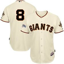 Hunter Pence SF Giants 2014 Authentic World Series Cool Base Home Cream Jersey