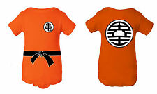 Goku Dragon Ball Z Inspired Infant Baby Newborn Onesie Creeper Crawler Bodysuit