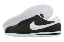 NIKE CORTEZ BASIC NYLON 06 Black White 317249 012 Classic Running Men