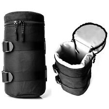 Camera Lens Bag Protector Pouch Case Insert Bag Cover For Canon Sony Nikon DSLR