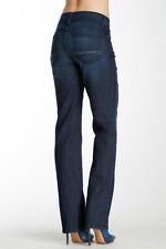NEW NYDJ Not Your Daughters Jeans Marilyn Dana Point straight leg dark wash 6