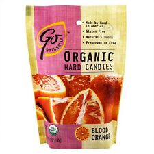 Go Organic Hard Candy and Fruit Chews -You Choose Flavor and Size -Free Shipping
