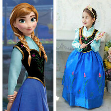 Halloween Princess Kids Girl Child Cosplay Costume Party Fancy Dress 2-8Y New