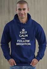 Keep Calm and Follow Brighton football Hoodie