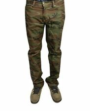 Rustic Dime Slim Fit Jeans (Twill Camo) Authentic Casual Pants Mens