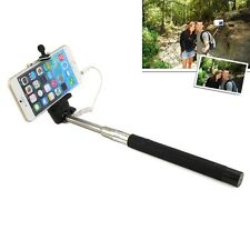 3.5mm SELFIE Monopod Extendable Handheld Stick Holder with Camera Shutter Button